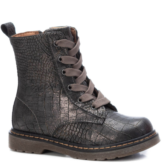 XTI Kids Pewter Boots 57270