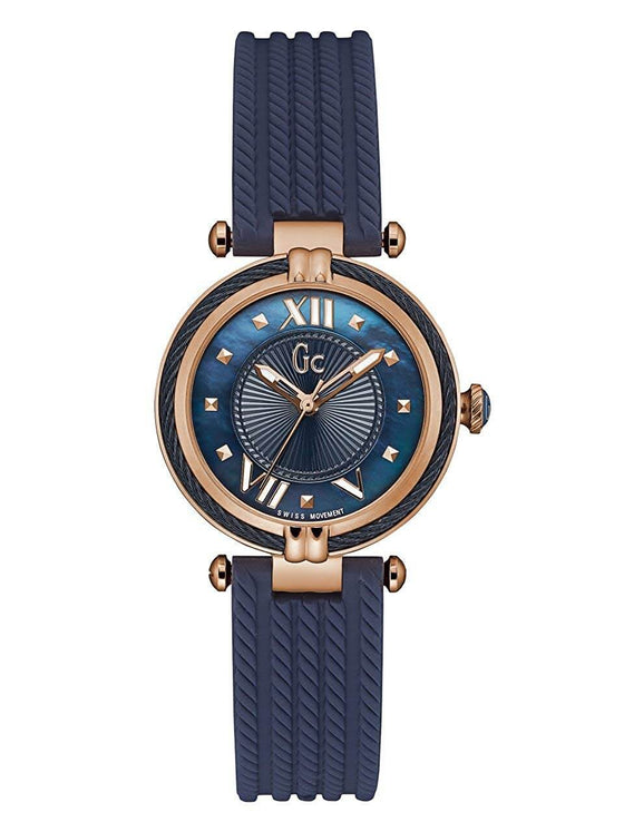 GC Cable Chic Silicone Navy Watch