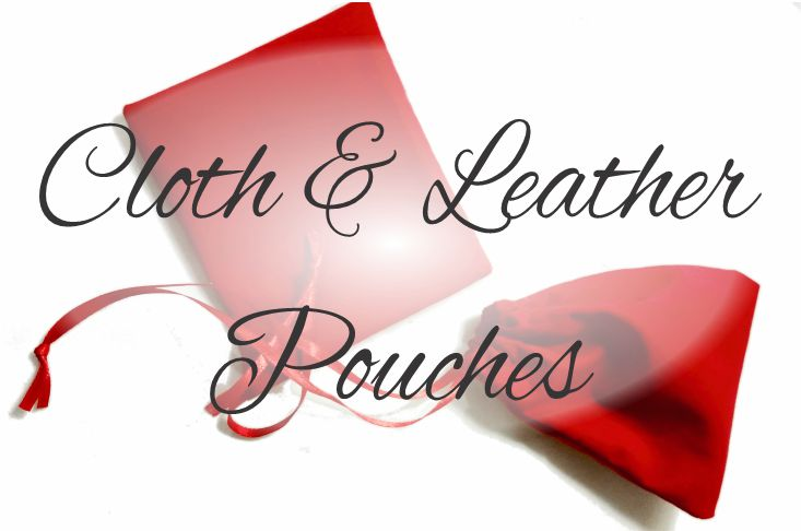Leather and Cloth Pouches
