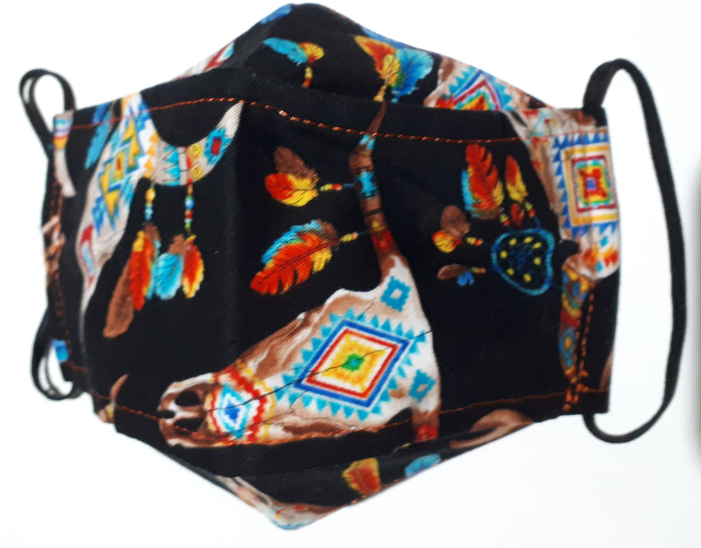Cloth Masks INDIGENOUS DESIGNS - 100% Quilting Cotton