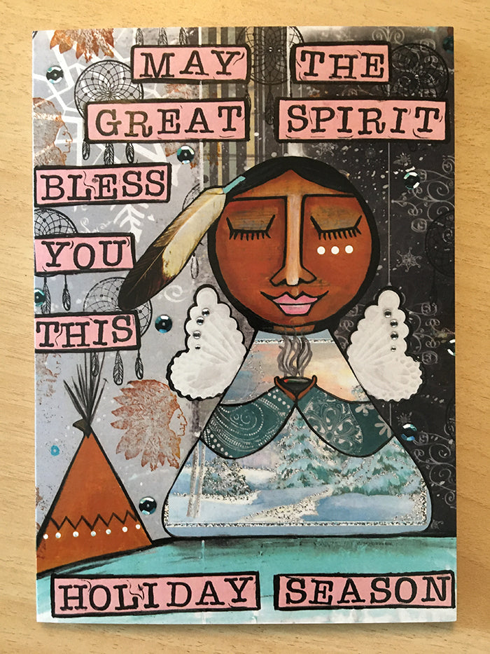 Indigenous Christmas Cards - Greeting Card Set 2