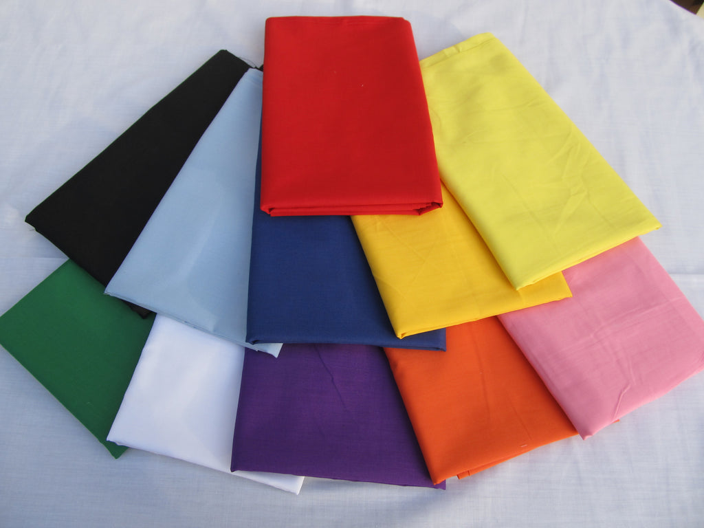 Broadcloth - Cotton/Polyester per metre