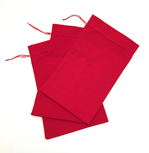 "Pouches (cotton broadcloth) Average size is 15x10 cm (5""x4"") - Medium"