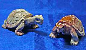 "Soapstone - Turtle (Terrestrial) (2""+ Medium) made in Peru"
