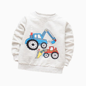 Car Long Sleeve Shirt - BbiesShoes | Official Site  babyclothes babyshoes babyfashion toddlersclothes