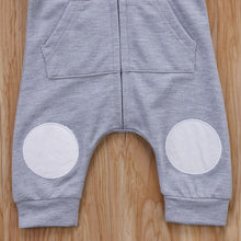 Load image into Gallery viewer, Bear Zipper Jumpsuit - BbiesShoes | Official Site  babyclothes babyshoes babyfashion toddlersclothes