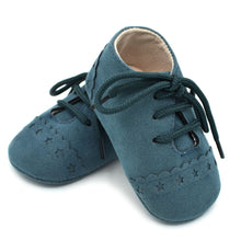 Load image into Gallery viewer, Teal Velvet - BbiesShoes | Official Site  babyclothes babyshoes babyfashion toddlersclothes