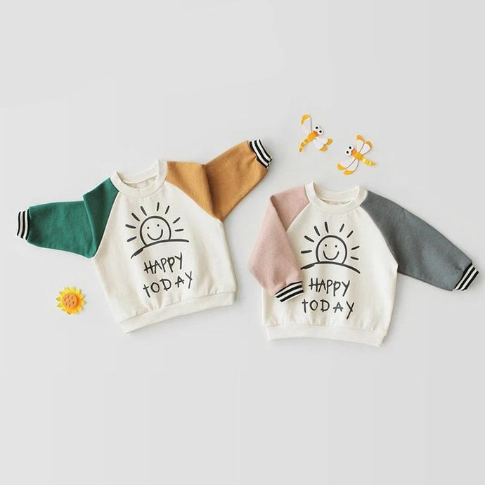 Retro Long Sleeve Sweatshirt - BbiesShoes | Official Site  babyclothes babyshoes babyfashion toddlersclothes