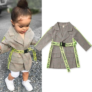 Fashion Gabardine Coat - BbiesShoes | Official Site  babyclothes babyshoes babyfashion toddlersclothes