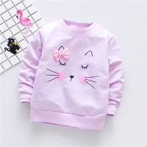 Kitty Long Sleeve Shirt - BbiesShoes | Official Site  babyclothes babyshoes babyfashion toddlersclothes