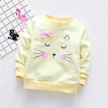 Load image into Gallery viewer, Kitty Long Sleeve Shirt - BbiesShoes | Official Site  babyclothes babyshoes babyfashion toddlersclothes