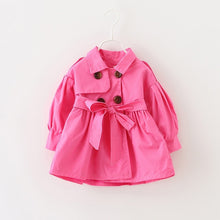Load image into Gallery viewer, Trench Coat - BbiesShoes | Official Site  babyclothes babyshoes babyfashion toddlersclothes