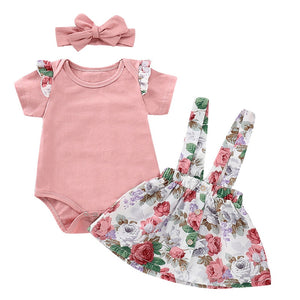 Party Flower Outfit 3 Piece - BbiesShoes | Official Site  babyclothes babyshoes babyfashion toddlersclothes