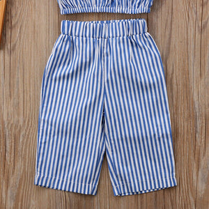 Striped Cotton Outfit 2 Piece - BbiesShoes | Official Site  babyclothes babyshoes babyfashion toddlersclothes