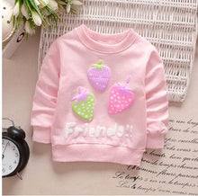 Load image into Gallery viewer, Strawberry Long Sleeve Shirt - BbiesShoes | Official Site  babyclothes babyshoes babyfashion toddlersclothes
