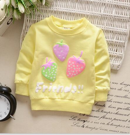 Strawberry Long Sleeve Shirt - BbiesShoes | Official Site  babyclothes babyshoes babyfashion toddlersclothes
