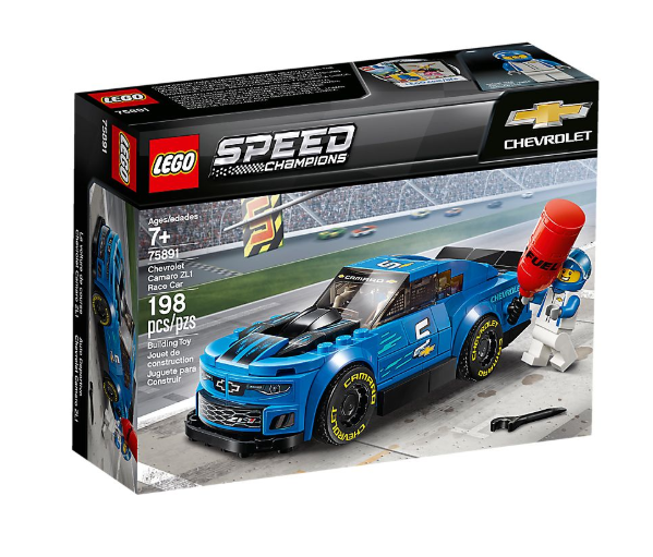 Speed Champions Chevrolet Camaro ZL1 Race Car