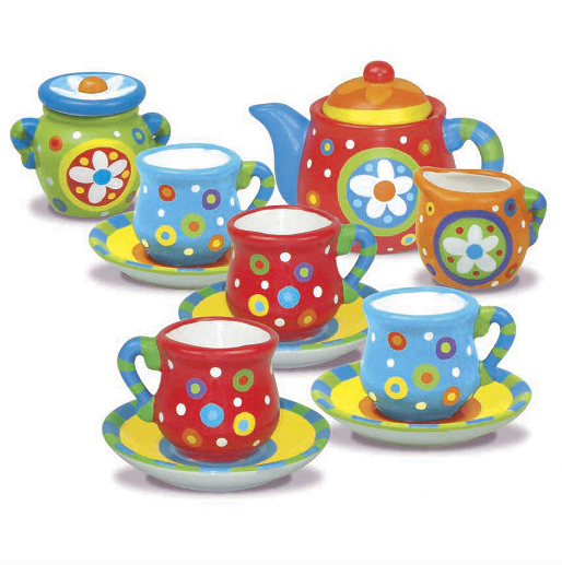 Paint your own Mini Tea Set