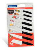 Plenus 8 Piece knife set  (with Cleaver)