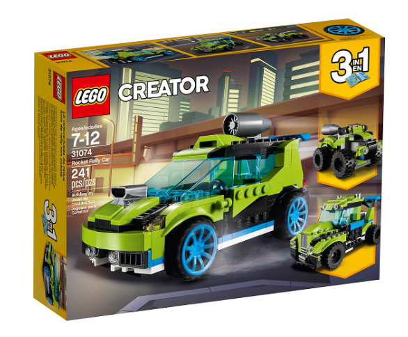 Creator 3 in 1 Rocket Rally Car