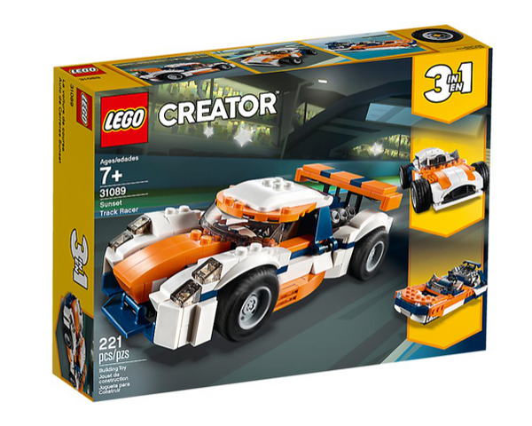 Creator 3 in 1 Sunset Track Racer