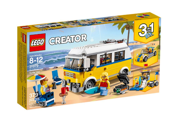 Creator 3 in 1 Sunshine Surfer Van