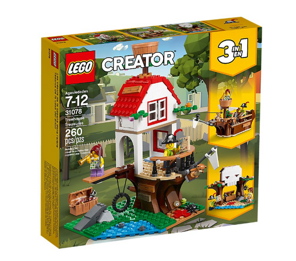 Creator 3 in 1 Treehouse Treasures