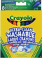 Ultra Clean Washable Large Crayons 8