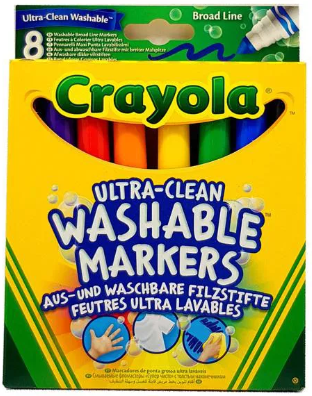 Ultra Clean Washable Markers 8