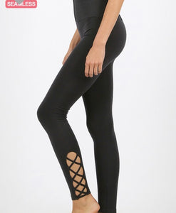 Lattice Tummy control leggings