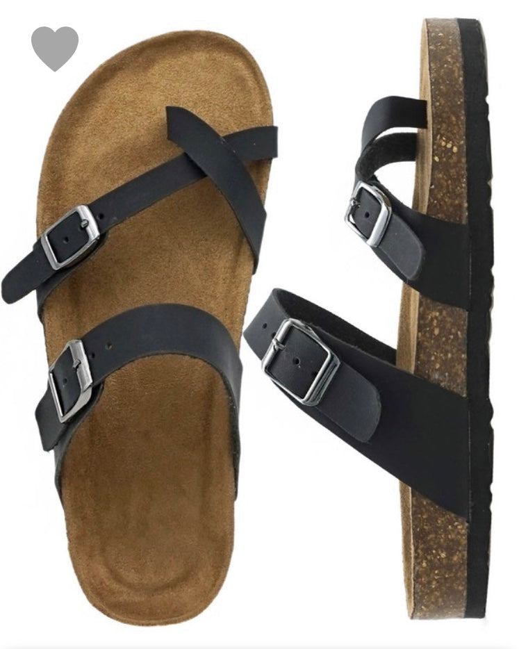 Black Outwoods Sandal
