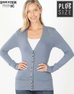 Snap button Cardigans