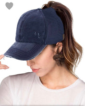 Load image into Gallery viewer, CC Ponytail hat