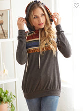 Load image into Gallery viewer, Aztec double hoodie