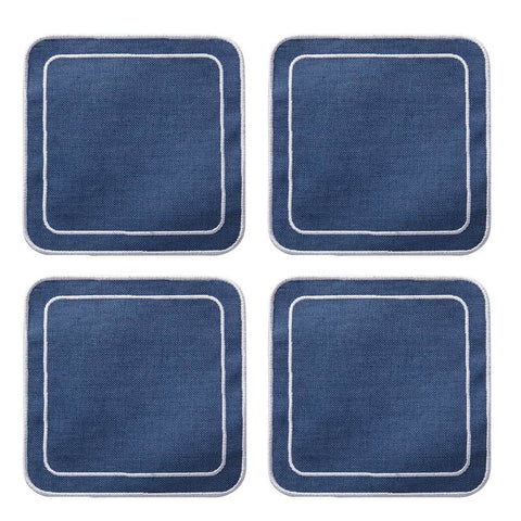 Linens - Linho Collection Coasters - Simple Square