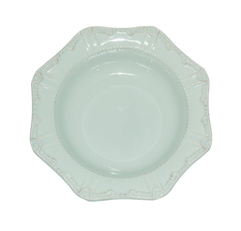 Isabella Pasta Bowl / Rim Soup Ice Blue
