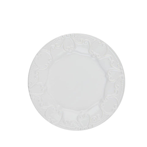 Isabella Embossed Salad Pure White