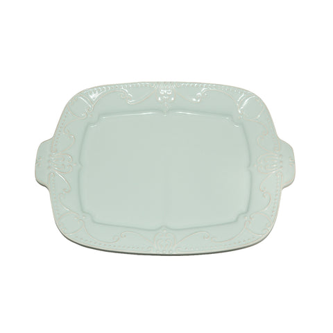 Isabella Rectangular Tray Ice Blue