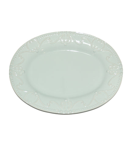 Isabella Oval Platter Ice Blue