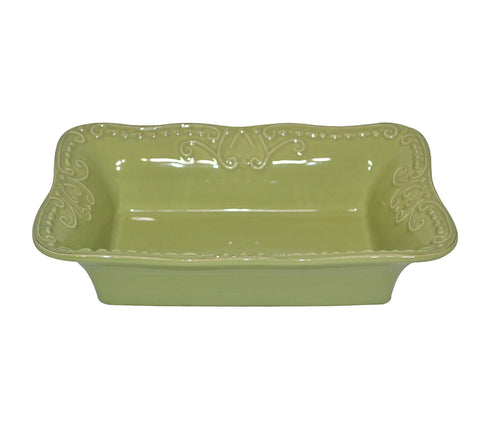 Isabella Small Rectangular Baker Jade