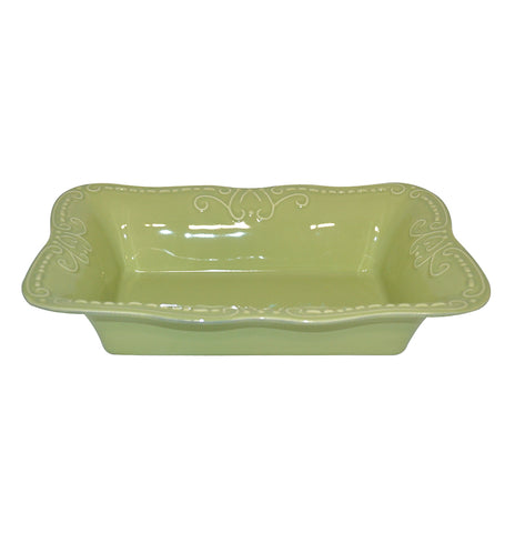Isabella Medium Rectangular Baker Jade
