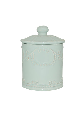 Isabella Coffee Canister w/ Seal Ice Blue