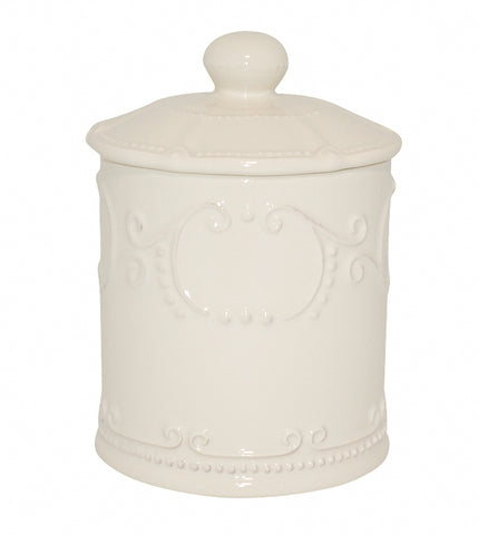 Isabella Coffee Canister w/ Seal Linen