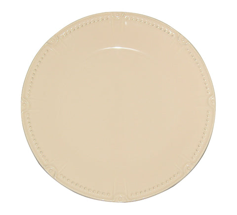Isabella Round Dinner Yellow Creme