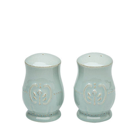 Isabella Salt And Pepper Set Ice Blue