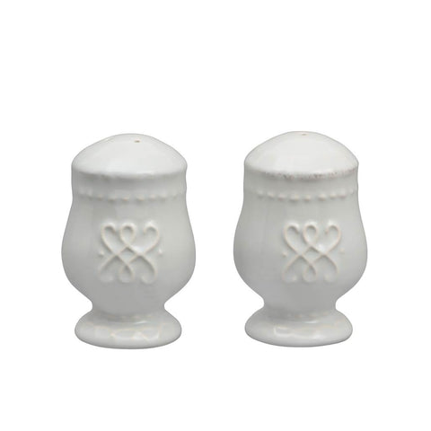 Historia Salt and Pepper Set Barely Blue