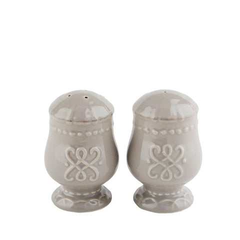 Historia Salt and Pepper Set Greystone