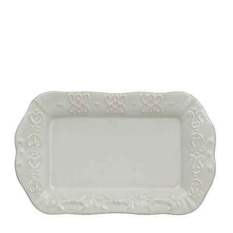 Historia Butter/Sauce Server Tray Barely Blue