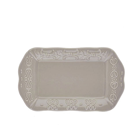 Historia Butter/Sauce Server Tray Greystone
