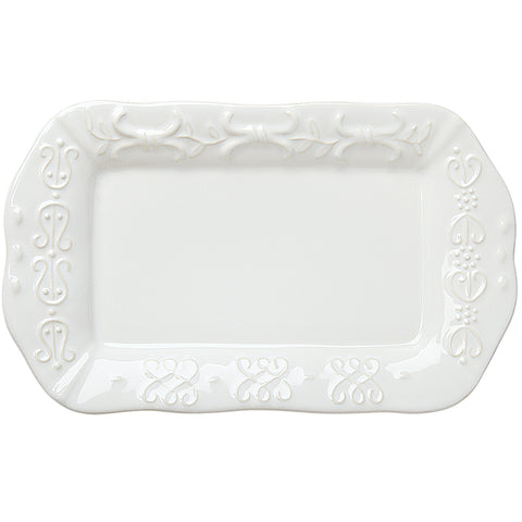Historia Butter/Sauce Server Tray Paperwhite